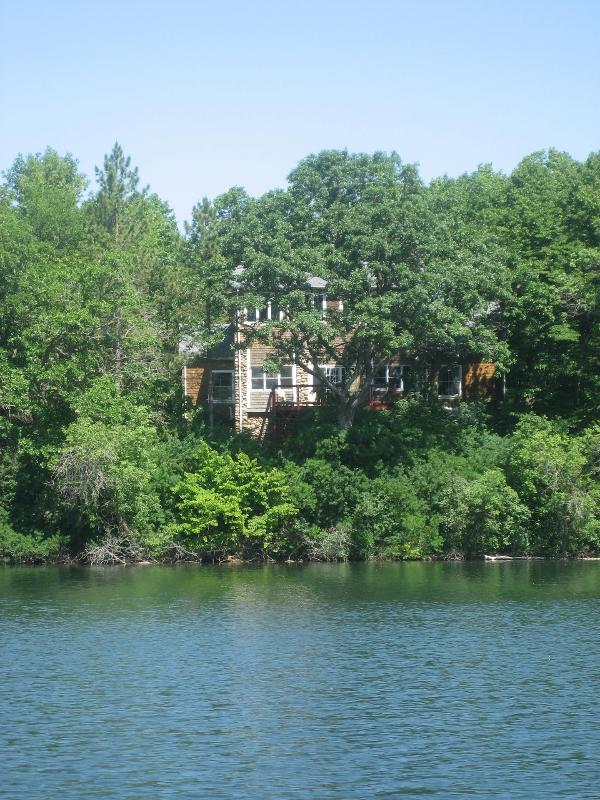 Bed and Breakfast--view from the lake - Xanadu Island B&B and Resort - Battle Lake - rentals