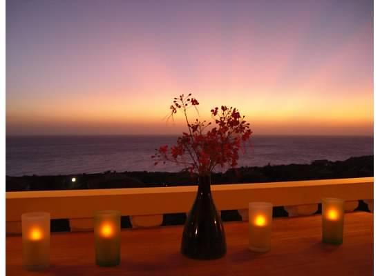 Evening view from terrace - Beautiful 3 BR Villa Curacao - Stunning Sea View - Willibrordus - rentals