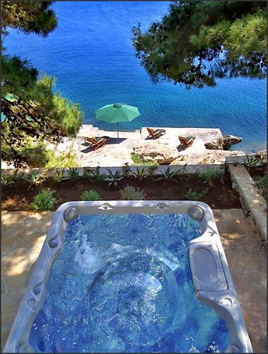 Luxury seafront villa, Brac island - Image 1 - Sumartin - rentals