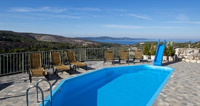 Breathtaking stone villa with pool for rent, Bobovisca, Brac - Breathtaking stone villa for rent, Bobovisca, Brac - Bobovisca - rentals