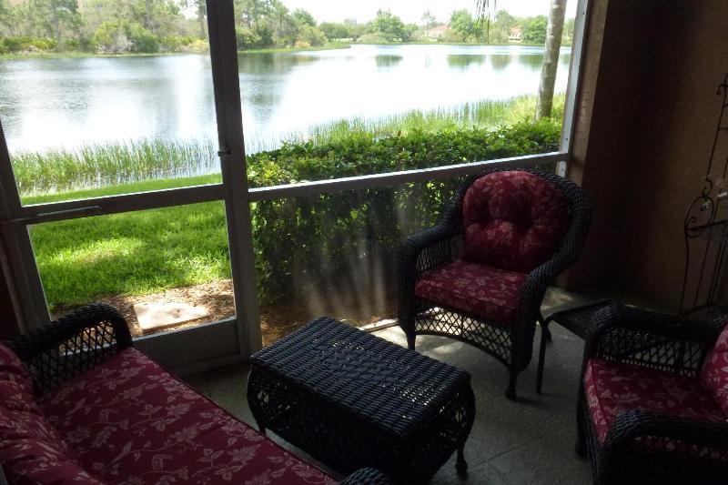 lakeview from lanai - most charming 2 BR condo- so close to Naples - Bonita Springs - rentals