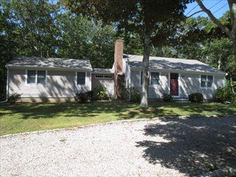 Exterior with circular driveway - OLD SILVER BEACH! 113854 - Falmouth - rentals