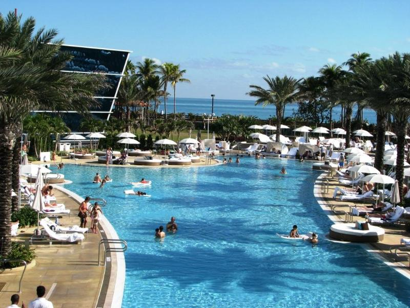 One of the Pools - Luxury 1-bdrm Apartment in Exciting Fontainebleau - Miami Beach - rentals