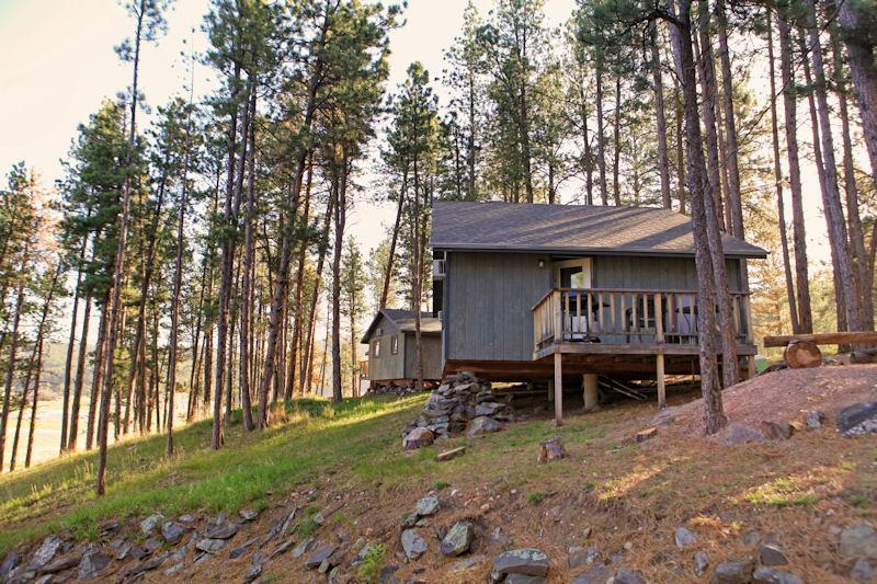 Exterior Duplex - Affordable Cabin Nestled in Pines by Mt Rushmore - Hill City - rentals