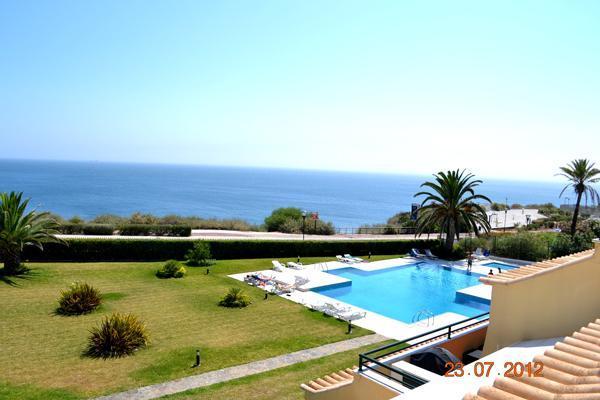 Terrace View of Ocean & Pool - Ocean View I -Cascais 3-Bedroom all w/ Ocean View - Cascais - rentals
