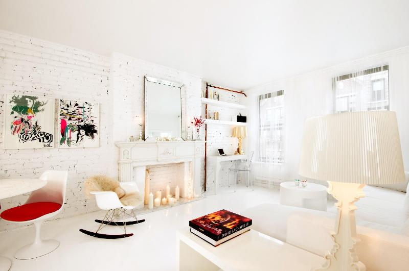 The bowery suite_living room - The Bowery Suites - Luxury & Stylish - SoHo - New York City - rentals