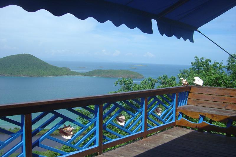 Awsome view of Luis Pena from balcony - Pitirres Nest Cottage  A dreamy place to get away! - Culebra - rentals