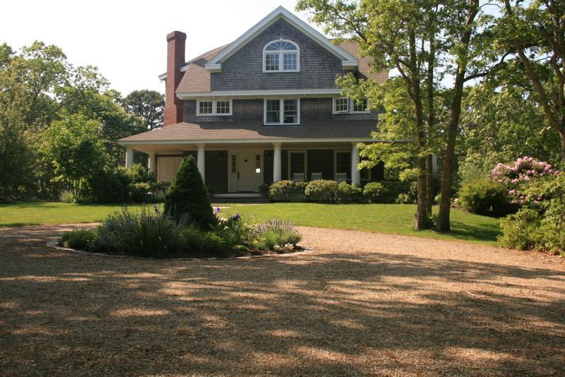 front - Water View Shingle Style Home in Lower Makonikey - Vineyard Haven - rentals
