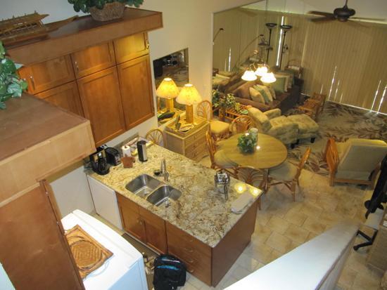 Brand new kitchen with granite & stainless steel. - 2BR Oceanview @ Best S Kihei Beach; Hale Kam 318 - Kihei - rentals