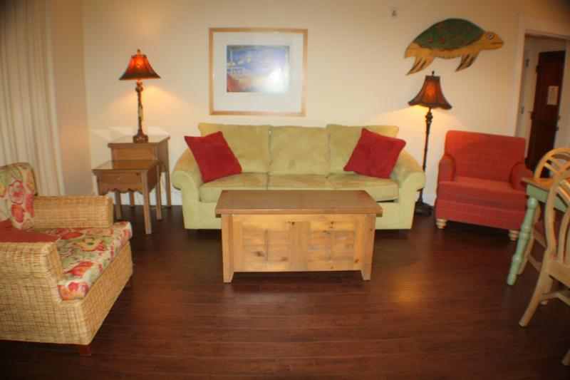 Living Area-View 2 - 2 Bedroom/sleeps eight comfortably - Miramar Beach - rentals