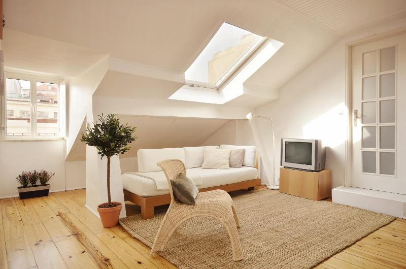 Bright lounge - *AS SEEN ON TV* apt in historic centre, wifi, a/c! - Lisbon - rentals
