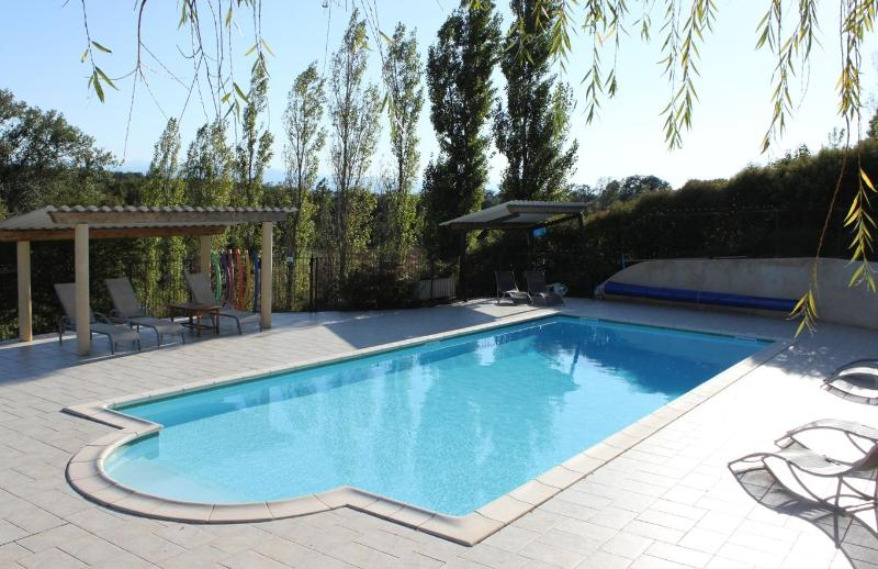 12 metre heated swimming pool - L'Ostalet - Lovely house with private garden - Pech-Luna - rentals