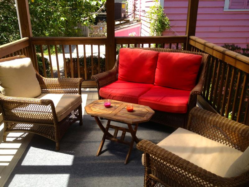 Back Porch - Luxury Townhouse in Downtown Historic District - Savannah - rentals