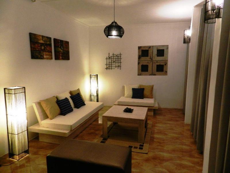 Living Room - Bernard Hermite Villa (WIFI) - Pointe Aux Piments - rentals