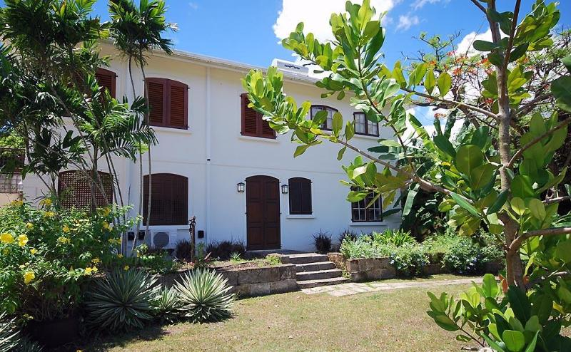 Front door of apartment - Cee Cee 1 or 2 Bedroom Apt. on Gorgeous West Coast - Gibbes - rentals