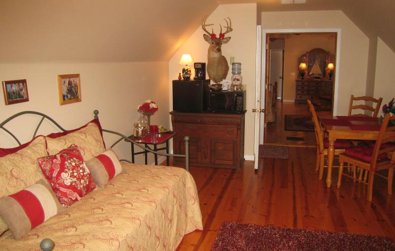 Living Room with Trumble Bed - Eastern Shore's Finest Bed and Breakfast - Princess Anne - rentals