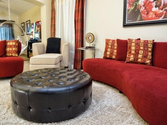 Living Area - CL3P5134VL 3 BR Furnished Kissimmee Villa Near Disney - Orlando - rentals