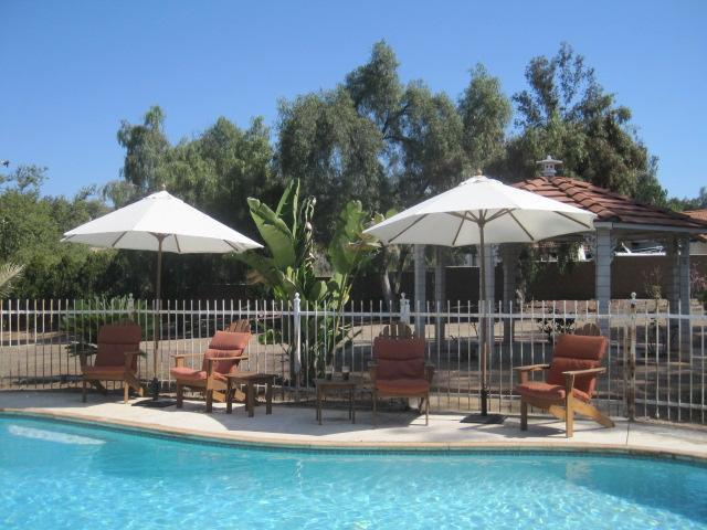 At the pool - Motocross Rental Home - Anaheim - rentals