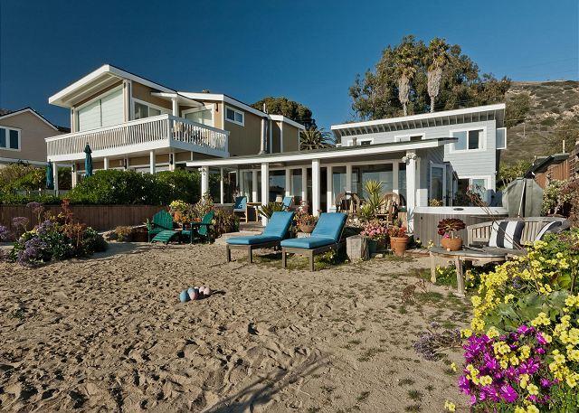Beach & Garden House B/T Mailbu & Santa Barbara on the water! - Image 1 - Ventura - rentals
