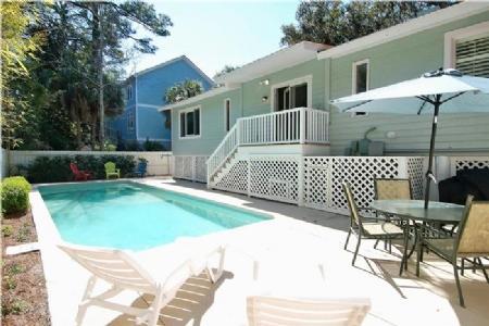 Back Yard and Pool - 109 - Hilton Head - rentals
