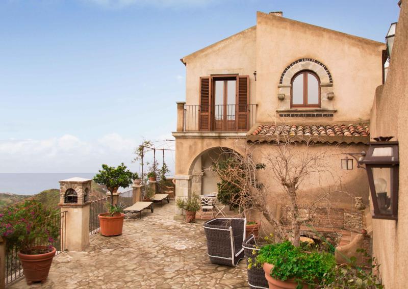 Villa Constanzia, stunning terrace, fabulous view - Image 1 - Taormina - rentals
