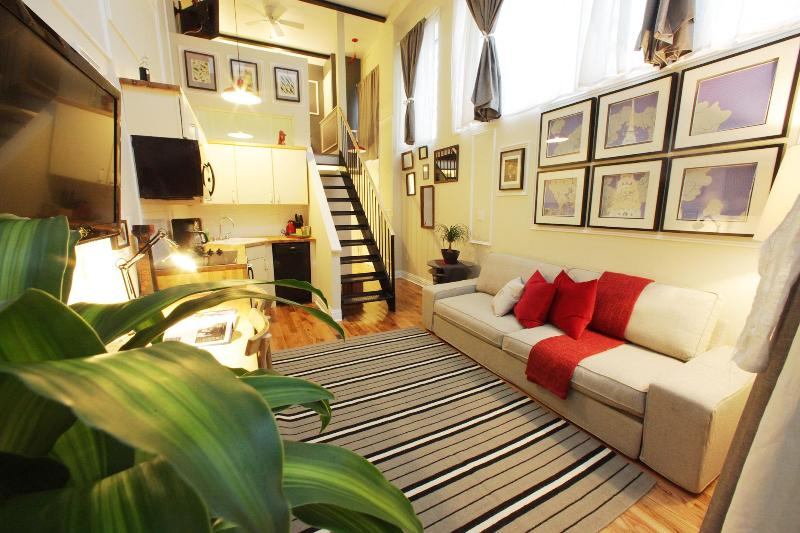 The Box House, Gorgeous Duplex Loft Suite w. Patio - Image 1 - Brooklyn - rentals