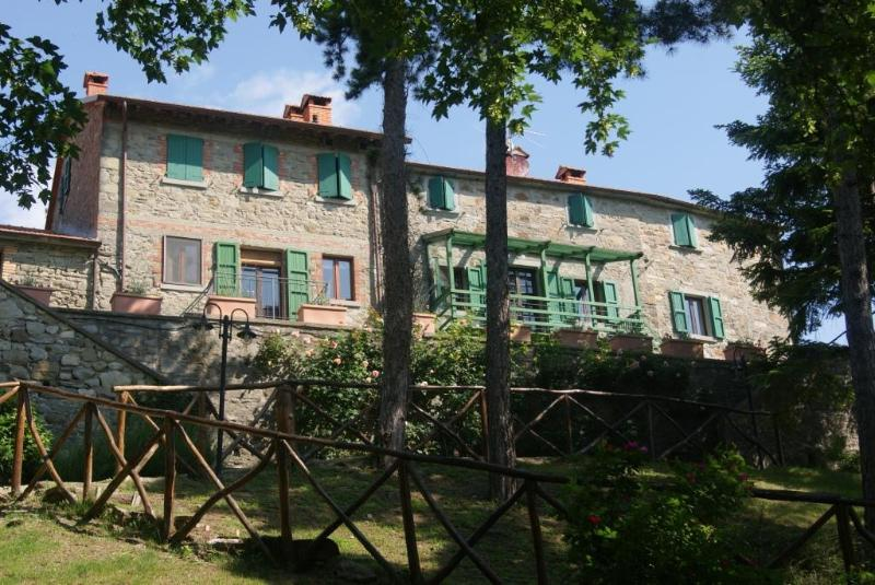 The house from the park - Fattoria di Arsicci, holiday house weekly rented. - Badia Tedalda - rentals