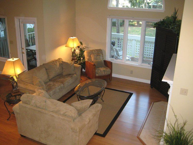 Living Room at 7640 Huntington - 7640 Huntington - Hilton Head - rentals