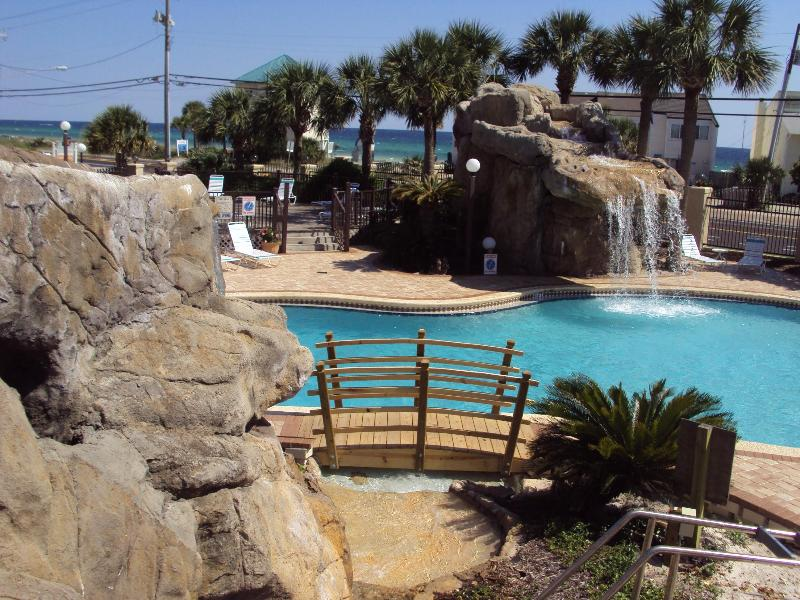 ** TROPICAL 2BR CONDO IN PCB....STEPS TO THE BEACH - Image 1 - Panama City Beach - rentals