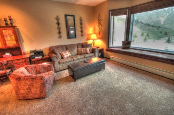 TL409 Telemark Lodge Deluxe Studio with Bunks  1BA - West Village - Image 1 - Copper Mountain - rentals