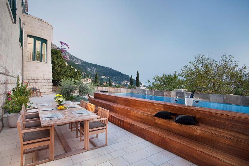 Luxury sea view villa with pool for rent, in Dubrovnik, Croatia - Luxury seaview villa for rent, Dubrovnik - Dubrovnik - rentals