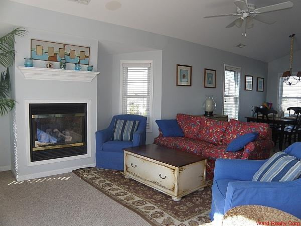 Living Room w/ Queen Sleeper - Starboard - Surf City - rentals