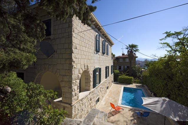 Luxury holiday villa with pool and sea view in Split on Marjan - Luxury holiday villa with pool in Split - Split - rentals