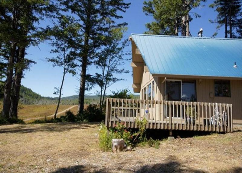 Peaceful & dog-friendly cabin with ocean views, sleeps 4! - Image 1 - Netarts - rentals