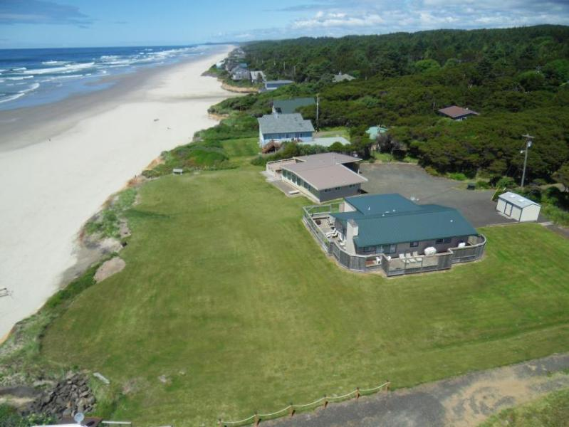 Dog-friendly oceanfront beach home w/ private hot tub and stunning ocean views! - Image 1 - Yachats - rentals