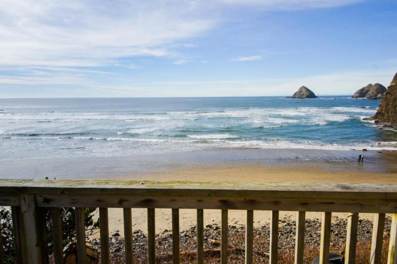 Oceanfront, gorgeous water views, jetted tub! - Image 1 - Oceanside - rentals