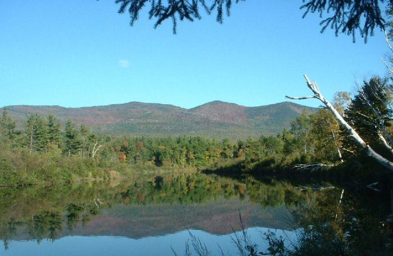 Wilmington Range from dock - Ausable Lodge - On Lake Everest - Hot Tub - Sauna! - Wilmington - rentals