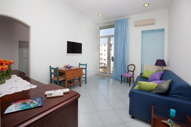 Living room - Apartment in the city centre of Sorrento - Sorrento - rentals