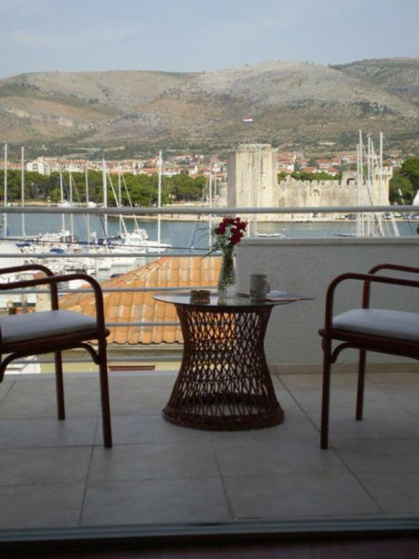 View from apartment-balcony - Villa Angel - Trogir - rentals