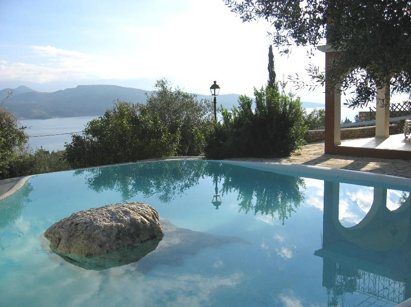 swimming pool - Modern villa, amazing views, private swimming pool - Lefkas - rentals