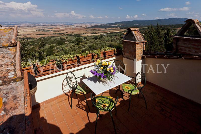 Chianni Terrace - Windows on Italy - Image 1 - Chianni - rentals