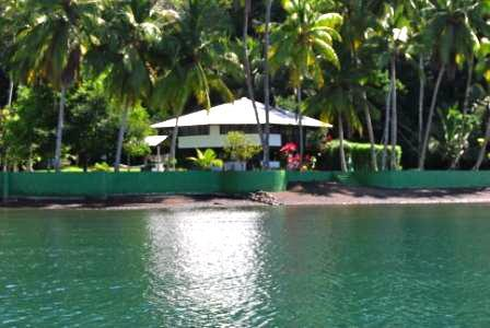 Beach House from the water - The Beach House - Golfito - rentals