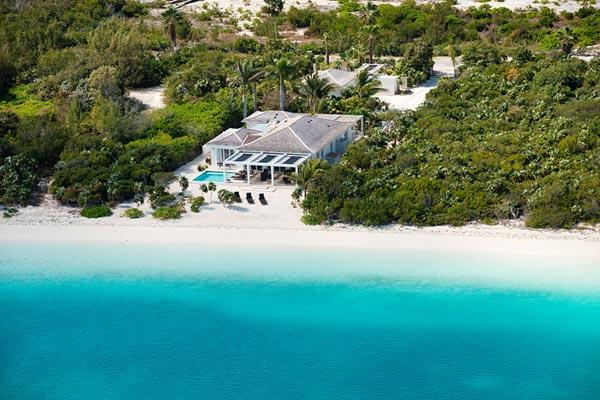 Surrounded by lush, tropical landscaping, this villa fronts onto a spectacular white powder sand beach. TNC BLO - Image 1 - Leeward - rentals
