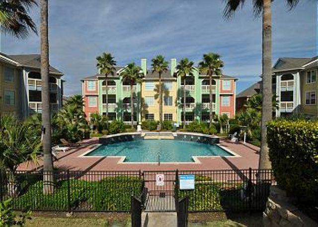 Ocean and Pool View Condo Steps from Galveston's New Beach! - Image 1 - Galveston - rentals