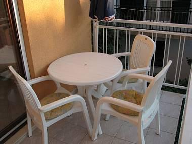 A1(2+1): balcony - 6128 A1(2+1) - Bilo - Croatia - rentals