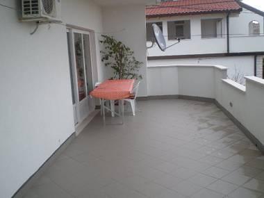A1(4+4): terrace - 6127  A1(4+4) - Trogir - Trogir - rentals