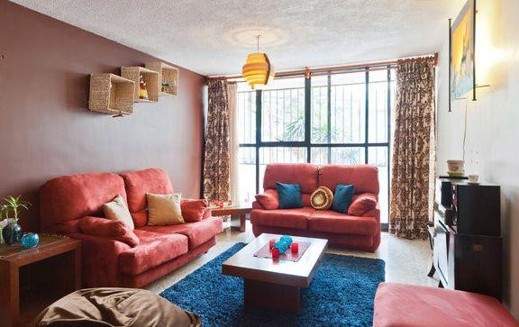 Living Room - Spacious Excellent Value 3 Bdrm Coyoacan Del Valle - Mexico City - rentals