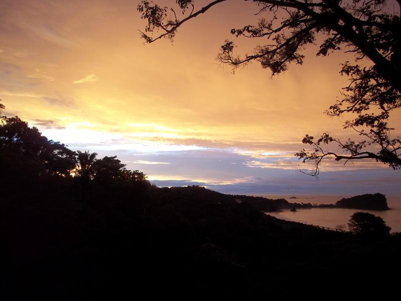 Morning view from Casa Buena Vista - Casa Buena Vista B & B Cottage - Manuel Antonio National Park - rentals