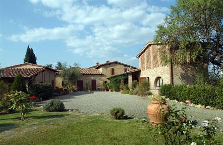 Overview - Papaveri - Monteriggioni - rentals