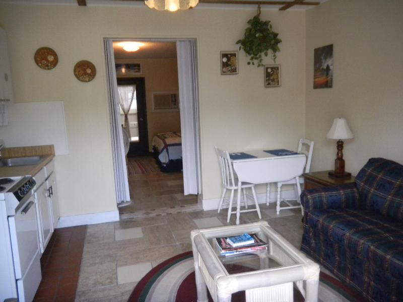 Living Room - Kitchen - SURFSIDE QUARTERS 7A - Tybee Island - rentals